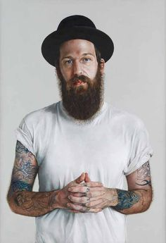 INCREDIBLE portrait by London-based artist Alan Coulson of his friend 'Richie' for the BP Portrait Award 2012. He is largely self-taught. This came 3rd. http://www.alancoulson.com/richie_culver_by_alan_coulson.html
