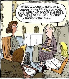 If Nikki ran the book club.  LOL
