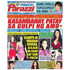 Pinoy Parazzi Vol 6 Issue 84 July 1 – 2, 2013 http://www.pinoyparazzi.com/pinoy-parazzi-vol-6-issue-84-july-1-2-2013/