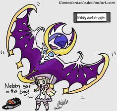 If Lillie Can Carry A Cosmoem. by GAmesterAxela on DeviantArt Pokemon Moon, My Pokemon, Pokemon Comics, Pokemon Memes, Catch Em All, Kawaii, My Children, My Drawings, Carry On