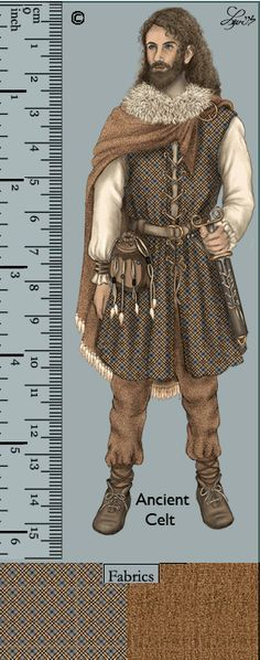 traditional celtic clothing - Google Search