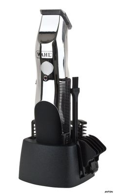 #ebay #uk Ideal for trimming facial hair, necklines and sideburns as well as other body hair. The Wahl rechargeable groomsman trimmer kit provides the freedom of cordless trimming around the home or on the go. The close trim and six position attachment combs provide a variety of cutting lengths to suit your desired look. Ergonomic design with soft touch grip gives complete control and comfort to ensure ease of use. The precision ground steel blades are designed to stay sharp for longer…
