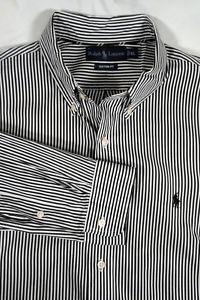 Ralph Lauren Classic Fit Mens Size XL Black Stripe Shirt #MemorialDayWeekend   eBay  http://www.ebay.com/itm/331561762312