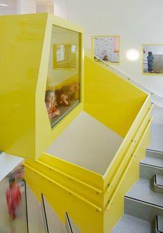 Espacios Cool para Niños...Sjotorget Kindergarten - DecoPeques