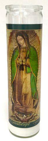 Buy Virgen de Guadalupe Original Candle (Pack of 6)  at MexGrocer.com