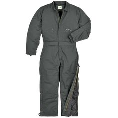 Polar King® Insulated Loden Twill Coveralls
