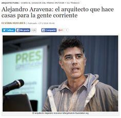 Alejandro Aravena : el arquitecto que hace casas para la gente corriente / @cuartopoder | #socialspaces #socialcities