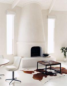 Modernizing fireplace
