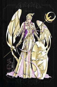 Saint Seyia Athena Saori Kido