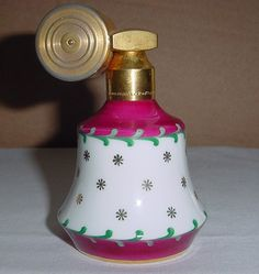 Marcel Franck LIMOGES 1920s Rare ART DECO Porcelain Perfume Bottle