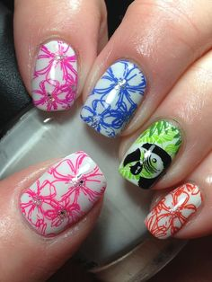 Canadian Nail Fanatic: Digit-al Dozen Does Neon; Day 5