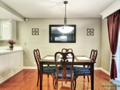 Open Dining Room. Great for entertaining.