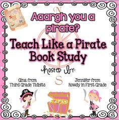 What I'm Reading Wednesday: Teach Like a PIRATE   Freebies