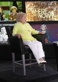 Betty White has graced television with her presence for more than seven decades. She finally sat down with Oprah and shared her secrets to remaining young at age 93: