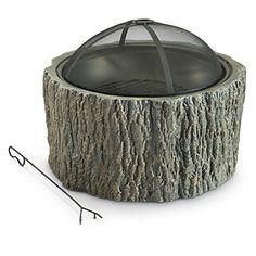 CASTLECREEK Stump Fire Pit For Sale https://outdoorfirepits.review/castlecreek-stump-fire-pit-for-sale/