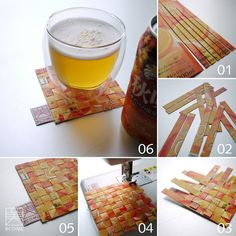 Tetrapack water resistant coaster
