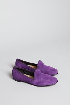 Totokaelo - Acne - Khol Suede Slipper - Purple