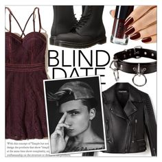 """""""Dress to Impress: Blind Date!"""" by isabeldizova ❤ liked on Polyvore featuring Hollister Co. and Dr. Martens"""