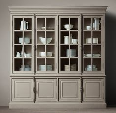 French Casement Sideboard and Hutch | Restoration Hardware