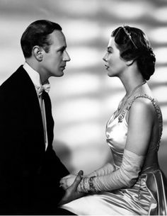 "Leslie Howard and Wendy Hiller in ""Pygmalion"", 1938"