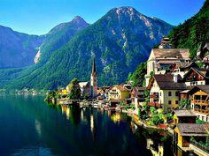 Hallstatt, Austria.. so pretty