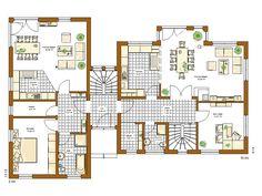 Ground Floor Plan, House Plans, Sweet Home, Floor Plans, House Design, Flooring, How To Plan, Atlanta City, Modern Houses