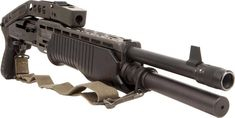 The SPAS-12 was designed in the late 1970s by the Italian company Luigi Franchi Spa as a special purpose, military and police close combat weapon (actually, SPAS stands for Sporting Purpose Automatic Shotgun, or Special Purpose Automatic Shotgun, depending on the source). It featured a selective action for greater versatility, and can be used as a gas operated semi-automatic repeater or as a manually operated pump action repeater, depending on the mission and ammunition used.