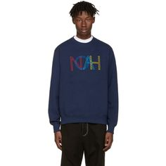 Noah - Navy Colors Logo Pullover
