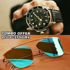Combo offer Watch and sunglasses at unbeatable price