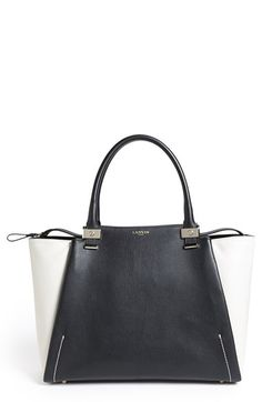 58910454e00d Lanvin  Trilogy  Bicolor Tote available at  Nordstrom Best Handbags