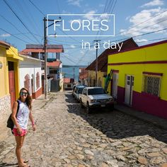 On the way back from Tikal to Guatemala city, we spent an afternoon in Flores. The tiny town is built on a little island connected to the mainland at Santa Elena, where the airport is located, by a narrow causeway. It's just under an hour away from Tikal which makes it a great place to overnight wh