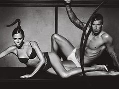 just a casual couple photo shoot... the beckham's. <3