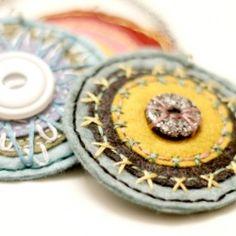 handmade, unique felt pieces @Looksi Square #nancybandzuch