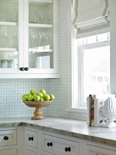 Kitchen cabinetry-- but I am not crazy about the basketweave tile.