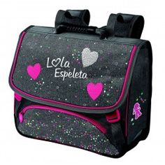 Cartable LOLA ESPELETA 38 cm AVEC 2 COMPARTIMENTS chez MAXIRENTREE.FR