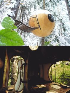 10 Super Cool Treehouses