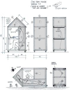 van bo le mentzel: one sqm house - designboom | architecture & design magazine