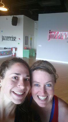Jessica  Melanie!! #selfies #jazzercise #jazzerciseNOVA www.gojazzercise.com
