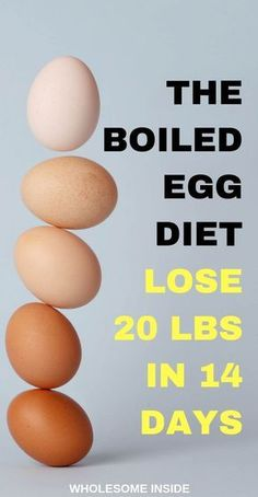 The Boiled Egg Diet: Lose 20 pounds in 2 weeks. - Wholesome The Boiled Egg Diet: Lose 20 pounds in 2 weeks. – Wholesome Inside boiled egg diet, lose weight on boiled egg diet. Egg Diet Losing Weight, Weight Loss Meals, Diet Plans To Lose Weight, How To Lose Weight Fast, Lose Fat, Quick Weight Loss Tips, Tips On Losing Weight, Foods To Lose Weight, Weight Loss Exercise Plan