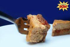 = PROTEIN POW(D)ER !: The Blog's Strawberry & Gojiberry Protein Custard Birthday Cheesecake.