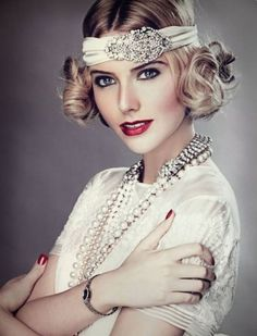 Great Gatsby makeup style 004