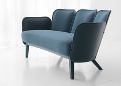 Wood + stitching detail - Julius seating collection I #Färg&Blanche