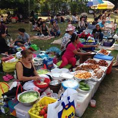 What a fantastic day in Berlin. Bangkok open Air. #thaiwiese #berlin #streetfood #Asia #food