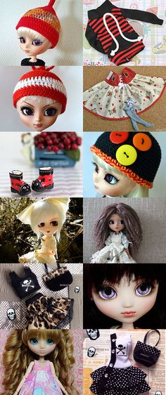 Pullip all the time by Lisa Astrup on Etsy--Pinned+with+TreasuryPin.com