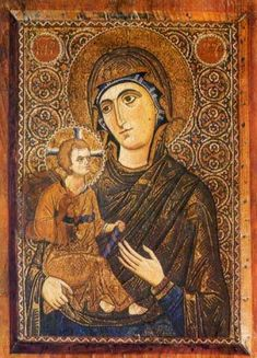 The Virgin Mary - Icon in the Monastery of St. Catherine on Mt. Sinai
