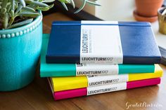 Goulet Pens Blog: Reloaded and refreshed: Leuchtturm1917 notebooks
