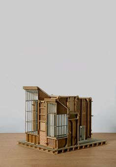 Philippe De Gobert. Architectural model