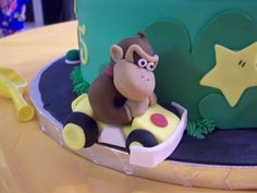 donkey kong cake