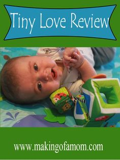 Tiny Love Product Review - fun toys for little ones.