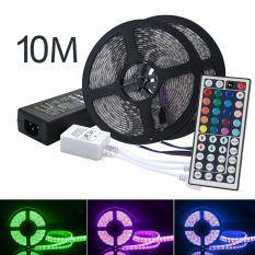 niceEshop LED Strip Lights Kit, OXOQO Led Tape Light SMD 5050 RGB  300 LEDs Flexible Rope Lights IP65 Water-Resistant Color Changing  LED Strips DIY Décor (10 M)